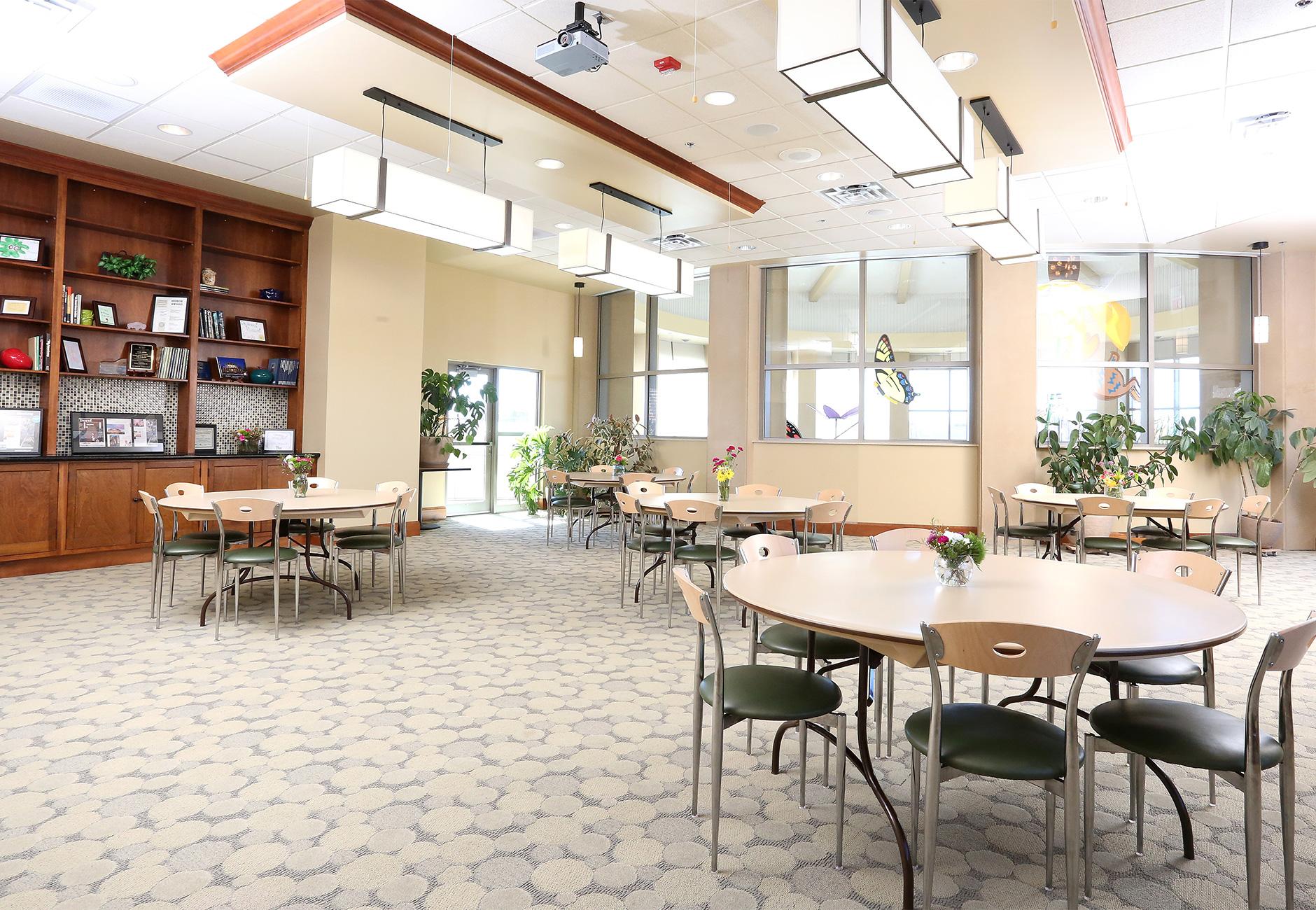 Community Room rental space.