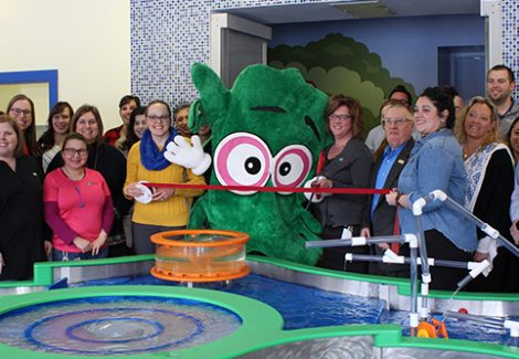 Splash Exhibit Celebrates Official Ribbon-Cutting