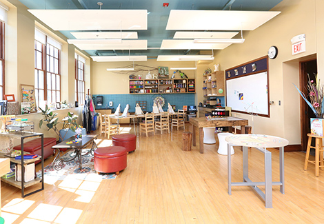 Maker Studio Offers Space for Inventing, Tinkering, and Creativity