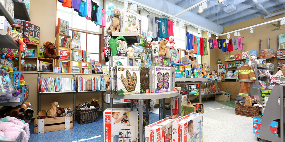 Your membership gives you a 10% discount on all purchases at Play Central Toys & Books, the museum gift shop