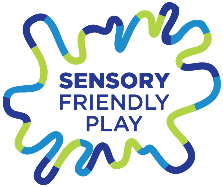Sensory Friendly Play logo for the Children's Museum.