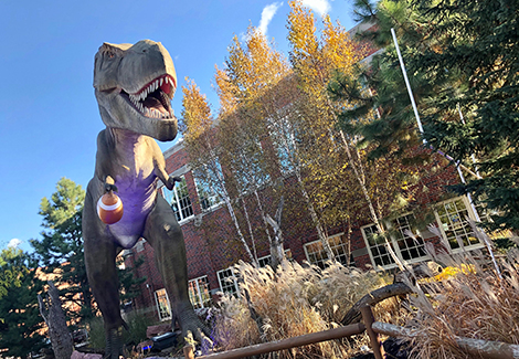 T. Rex Team Welcomes ESPN College GameDay