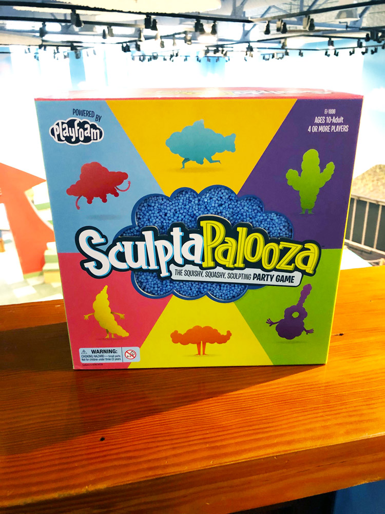 Sculptapalooza game.