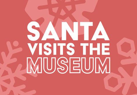 Santa Visits the Museum