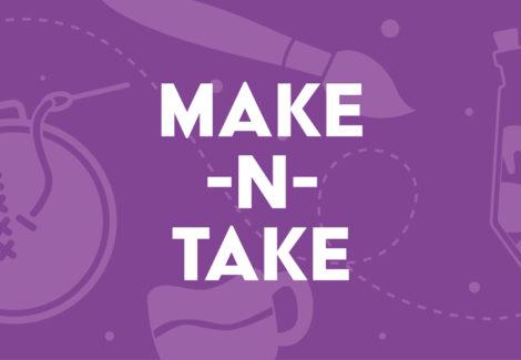Make-n-Take: Pottery Wheels