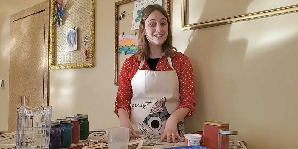Make ice sculptures with Lauren