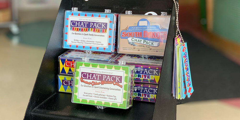 Chat Packs are a great way to start fun conversations!