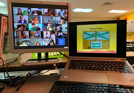 Virtual Learning Offers New Ways to Stretch and Grow